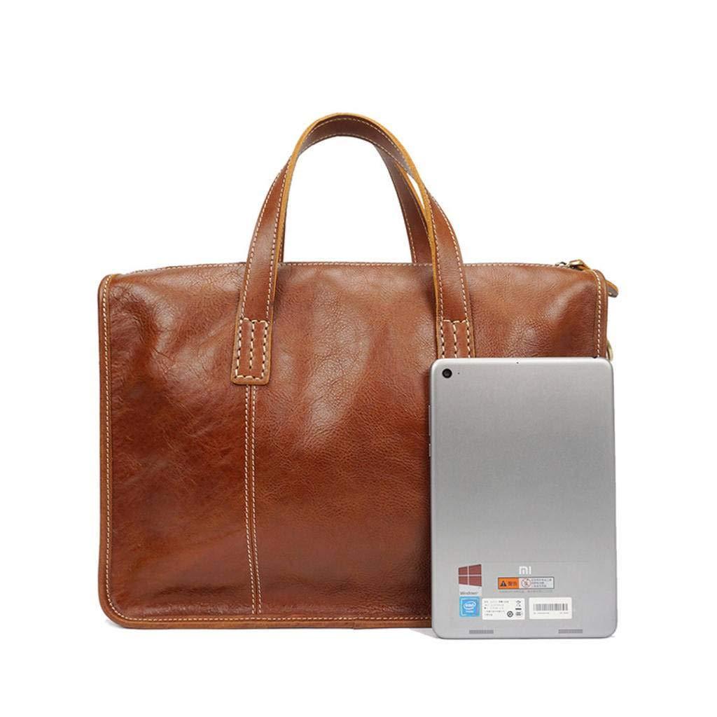 83e3a58ac0b5 Amazon.com: cjc Men's Bag Leather Handbag Men's Business Briefcase ...