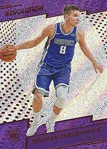 2017-18 Panini Revolution Basketball #110 Bogdan Bogdanovic RC Sacramento Kings