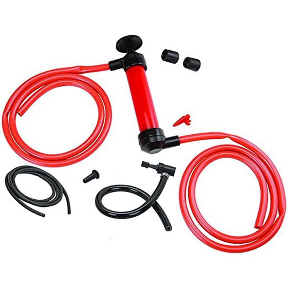 Gas Oil Liquids Transfer Siphon Pump Multi-Purpose Siphon Transfer Pump Kit#17-HXB