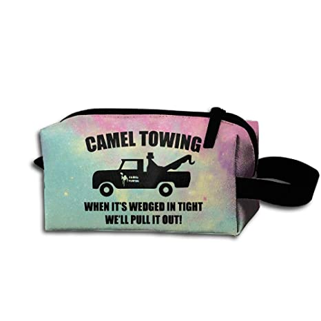 3e591e9feab Image Unavailable. Image not available for. Color: Nollm Camel Towing Rude  Medicine Bag Toiletry ...