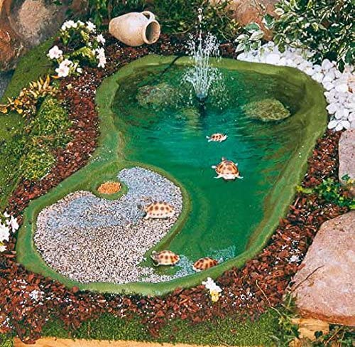 Arredogiardini - Estanque Ninja para tortugas - Medidas 185 x 105 cm - Termoformado - Ideal para jardín: Amazon.es: Jardín