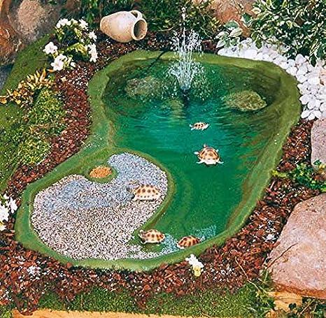 Vasche per tartarughe da giardino for Accessori per laghetti artificiali