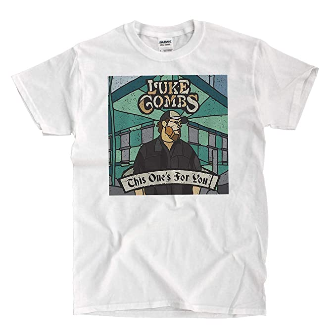 Amazon.com  Luke Combs - This One s for You - White T-Shirt  Clothing bf85ce435