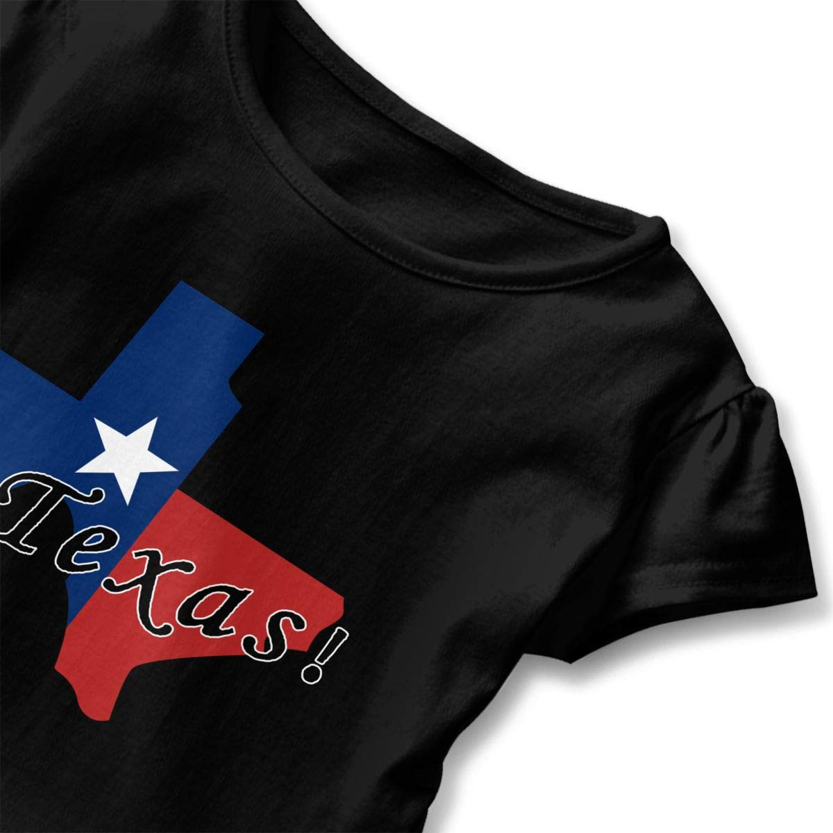 Cute Blouse Clothes with Falbala 2-6T Zi7J9q-0 Short Sleeve Dont Mess with Texas T-Shirts for Girls