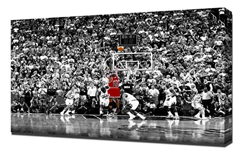 Lilarama USA 1998 NBA Finals Michael Jordan Last Shot Black