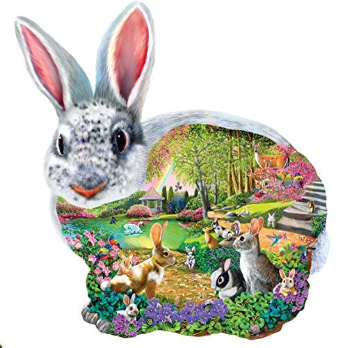 Bunny Hollow, A 1000 Piece Shaped Puzzle By SunsOut by SunsOut