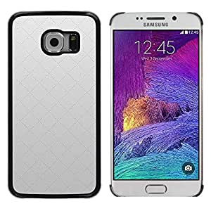 LECELL -- Funda protectora / Cubierta / Piel For Samsung Galaxy S6 EDGE SM-G925 -- Simple Pattern 17 --