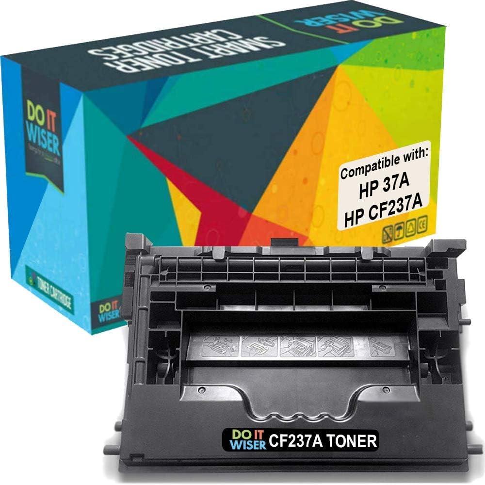 Do it Wiser Compatible Toner Cartridge Replacement for HP CF237A HP 37A HP Laserjet M607 M608 M607dn M607n M608n M608dn M631 M632 M633 (Black)