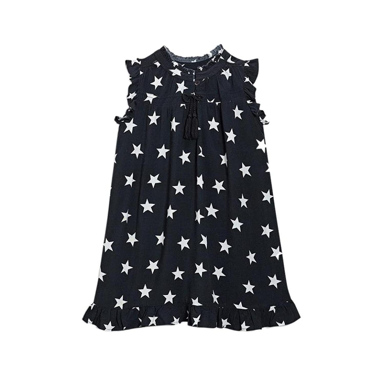 Voberry Kids Baby Girls Princess Dress Toddler Cute Bowknot Pageant Tutu Dress