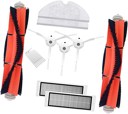 Sharplace 10 Piezas Partes para Robot Aspirador Mijia Accesorios ...