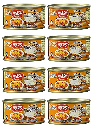 Top 10 best yellow curry paste maesri: Which is the best one in 2019?