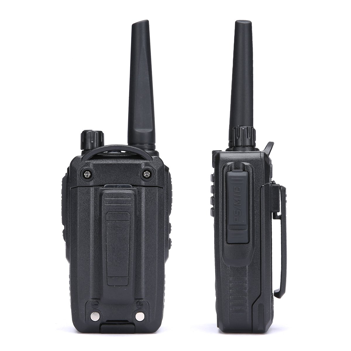 Black Walkie Talkies 2 Way Radio 5 Watts Uhf Ham Two Way Radio LT-320HM by Luiton
