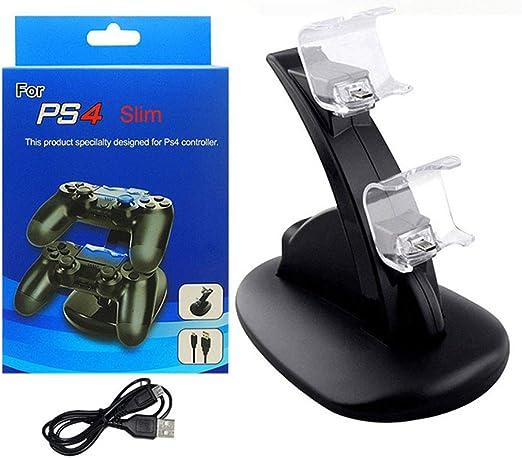 HCDMRE Cargador Controlador PS4, Playstation 4 / PS4 Pro/Cargador ...