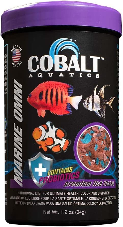 Cobalt Aquatics Marine Omni Flakes 1.2 oz.