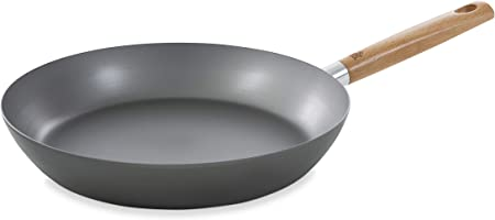 BK B1310.728 Nature Steel Frying Pan, 11in, Gray