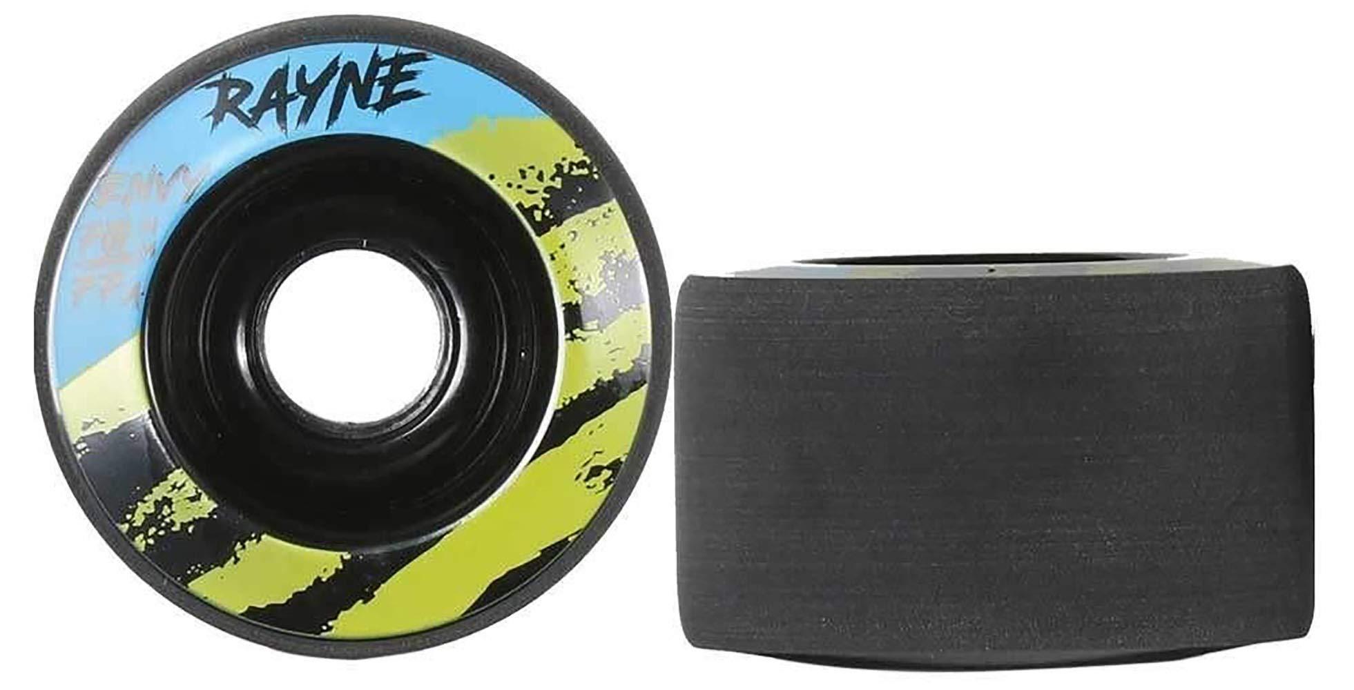 Rayne Envy 70mm 77A, 80A Uretano Longboard Juego de ruedas