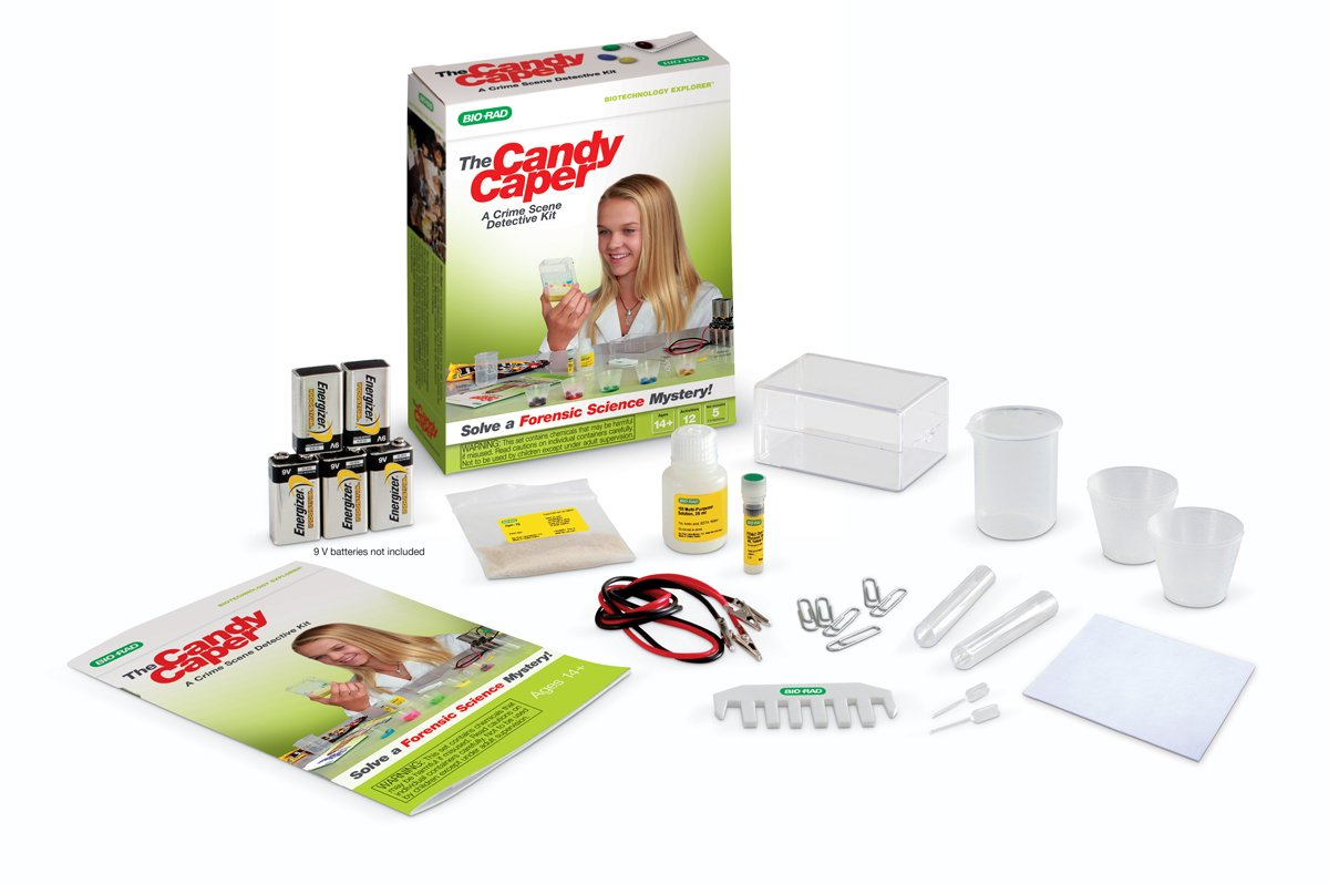 The Candy Caper, A Crime Scene Detective Kit by Bio-Rad: Educational Science Kits
