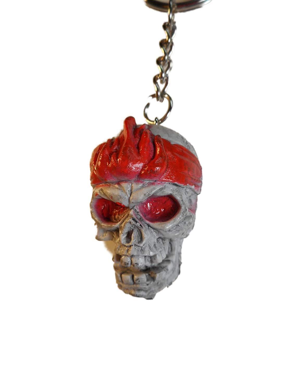 Schlüsselanhänger u Skeleton cráneo Llavero 11 cm Esqueleto ...