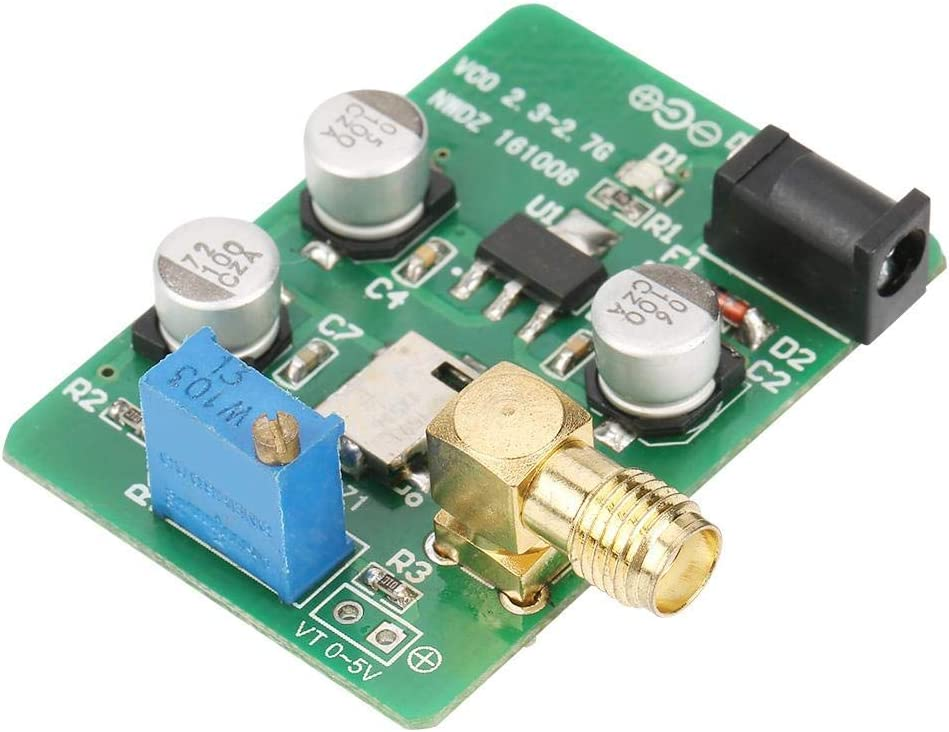 2.4G VCO Voltage Control Signal Source 2.4G//1.5G//5.8G//88-120M Sweep Signal WiFi GPS FM Test Source 2300-2700MHz