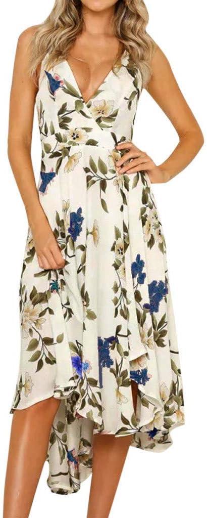 EDTO Floral Dress Summer...