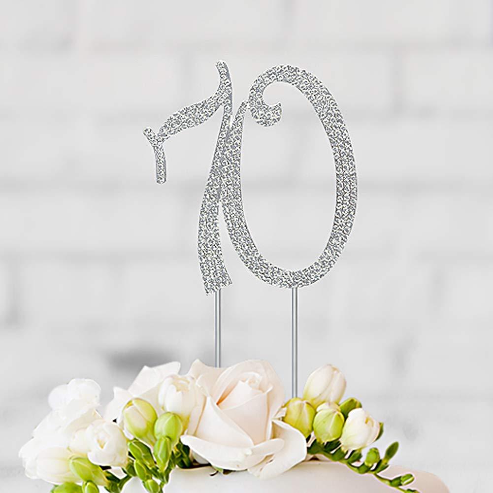 70 Birthday Cake Topper