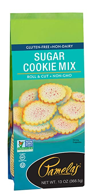 Pamela S Products No Gluten And Non Dairy Sugar Cookie Mix 13 Ounce