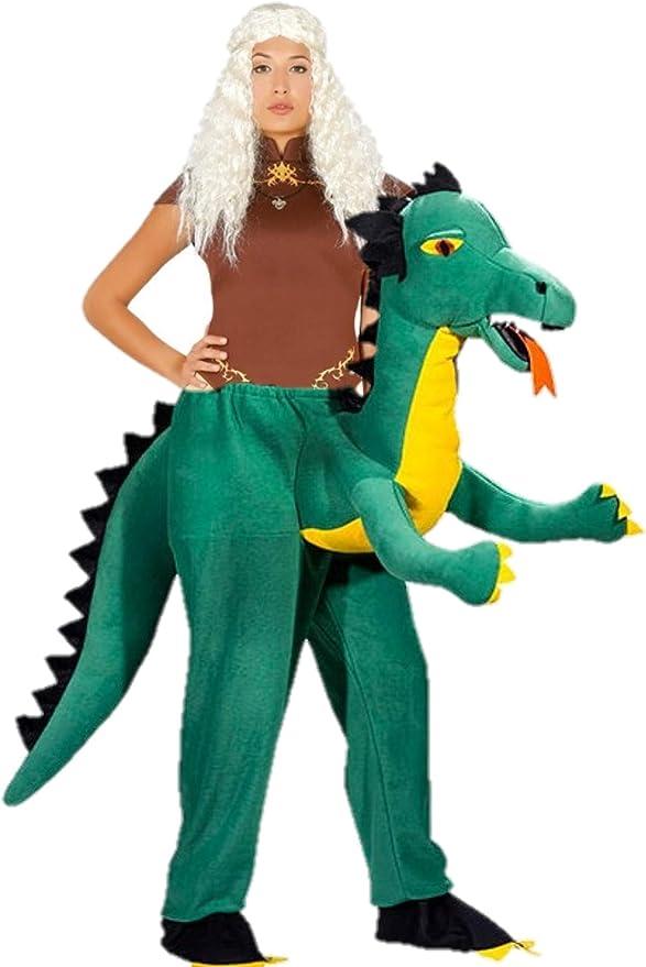Disfraz de Reina Dragones a hombros de Dragon: Amazon.es: Ropa y ...