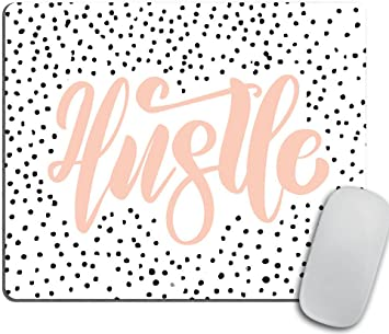 Mousepad fashion gift for boss girl Fashion illustration Mousepad desk accessories gift for co-worker