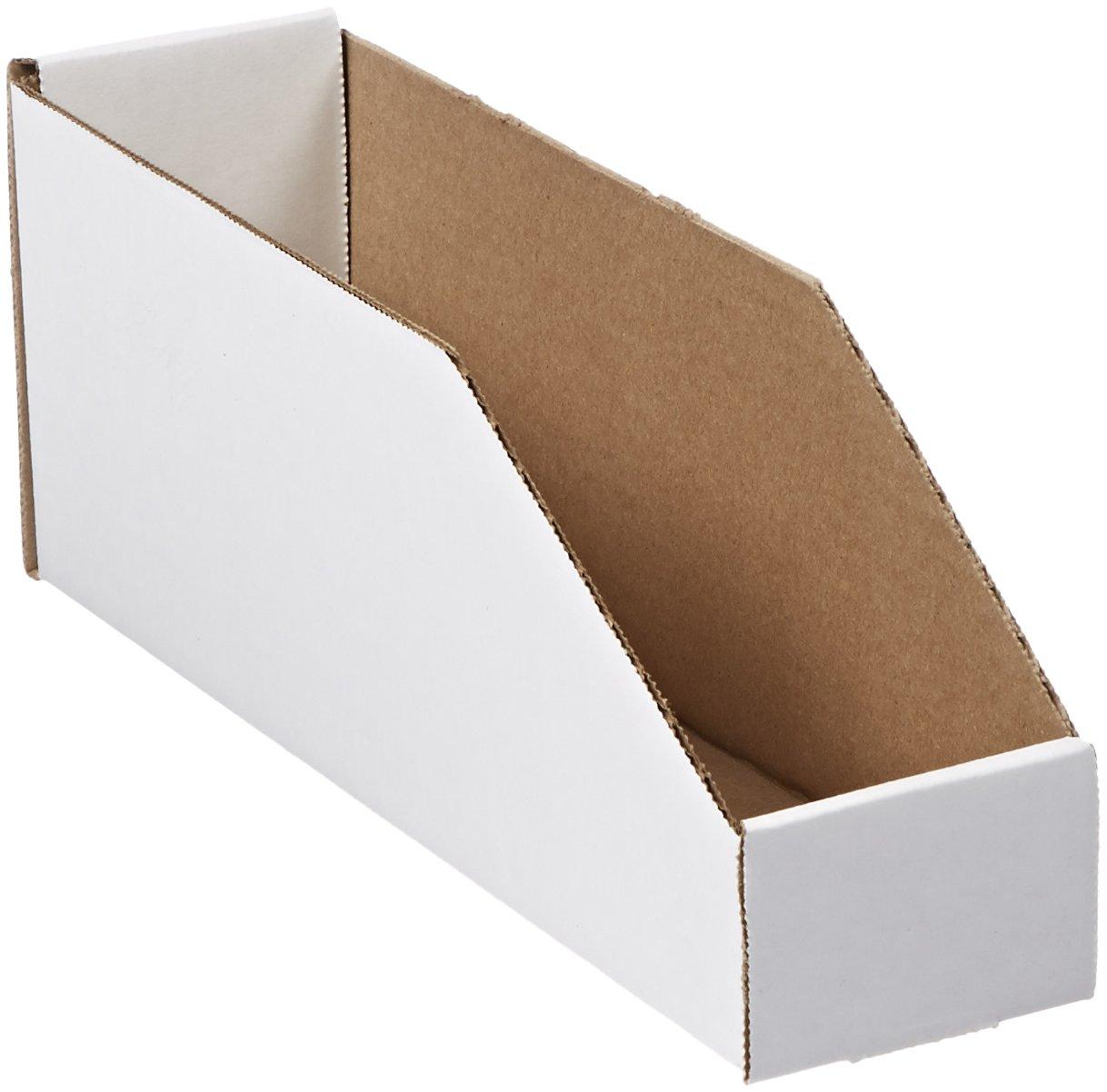 Aviditi Corrugated Cardboard Storage Bins, 3