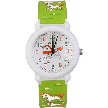 Kids Watch Children's Analog Watches Kids Time Teacher Watches, Cartoon Wrist Watches Help Children Manage Time Watch for Kids PU Watchbands Suitable for Children to Wear