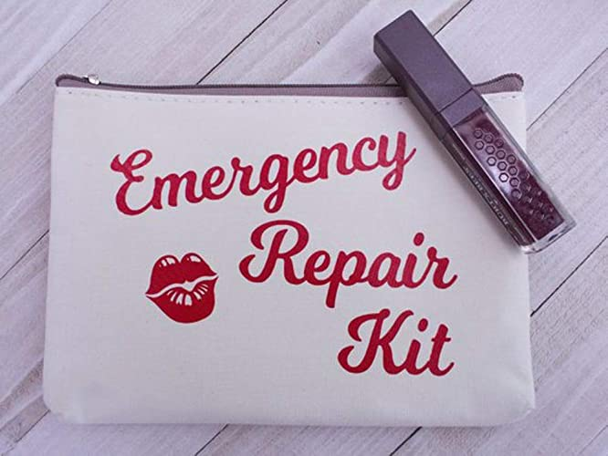Amazon Com High Quality Emergency Repair Kit Zippered Cosmetic Bag