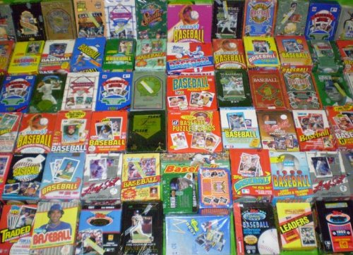 Baseball Card Collection of 30 Unopened Wax Packs Baseball Cards (1986-Current Year) - Look for rookie cards, hall of famers, special inserts, and more!! (PACKS ARE FUN TO OPEN)