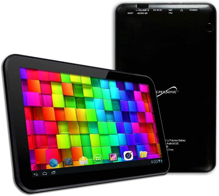 "Supersonic SC-4317BLK Tablet - 7"" - 1GB RAM - 8GB Storage - Android 5.1 Lollipop, Black"