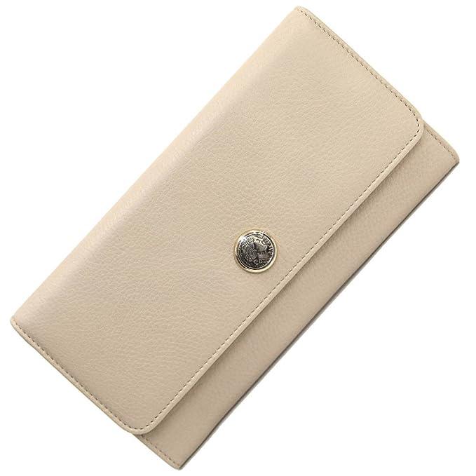 7dc8172e0ea9 BVLGARI(ブルガリ) 二つ折り長財布 モネーテ 34718 プードルベージュ レザー 新品 未使用