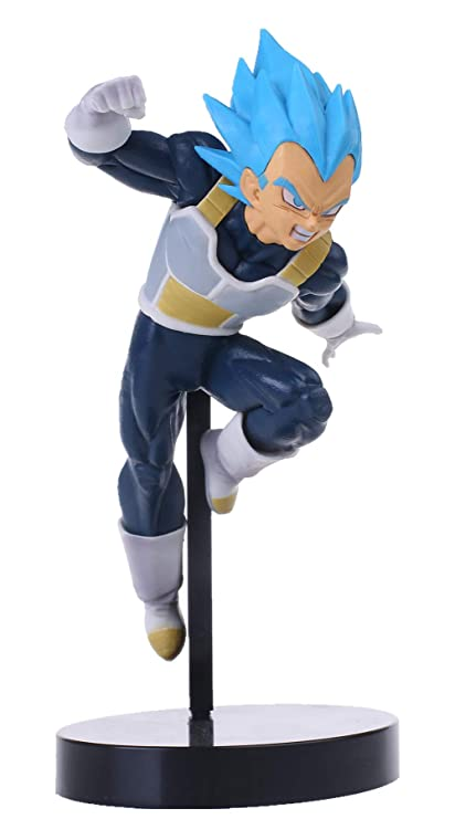 KELAKE Dragon Ball Z Actions Figures DBZ Super Saiyan Blue Ssjss Vegeta Action Figure Statue Fugurine