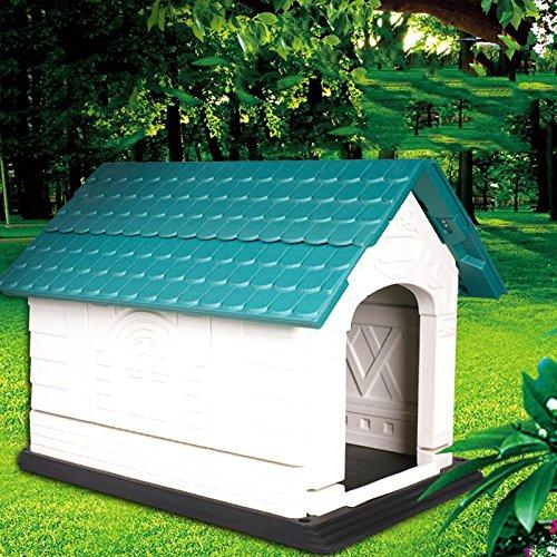 LIANPINGLavado plegable cama del perro casa perro de agua casa perro resina de camada criadero gato casa gato . l-103*81*80: Amazon.es: Deportes y aire ...