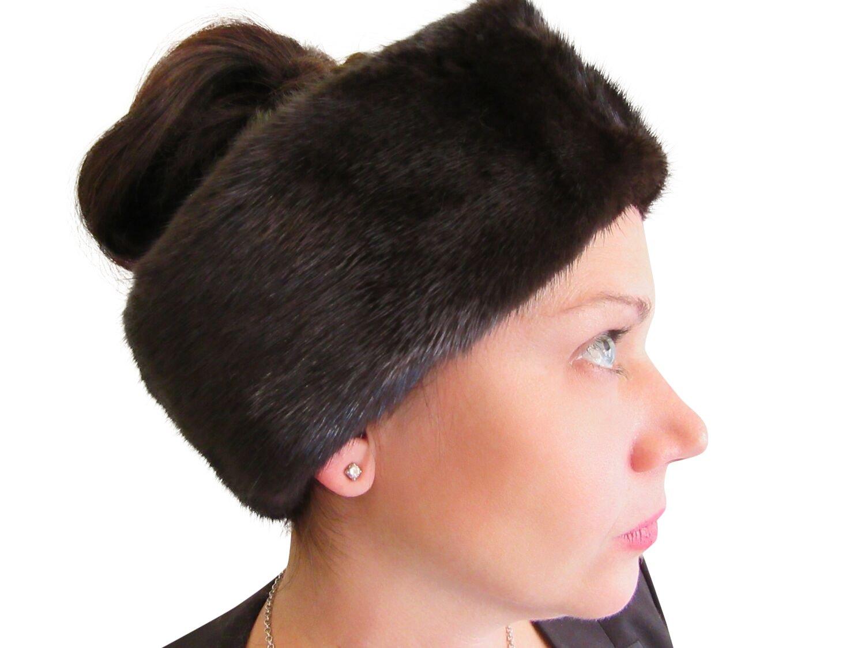 3.75-4 in Wide Ranch Mink Headband