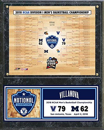 Villanova Wildcats 2018 NCAA Basketball Championship Photo Plaque (Size: 12″ x 15″)