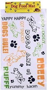 Kole KI-DI401 Plastic Dog Food Mat, One Size