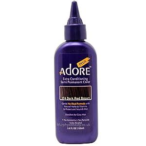Adore Plus #374 Dark Red Brown