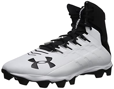 56bdd47b5f7 Under Armour Men s Renegade RM Football Shoe Black (001) White 12.5