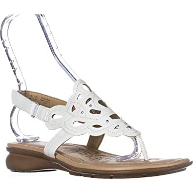 4e58d2b5d85c Naturalizer Womens Jade Open Toe Casual Slingback Sandals
