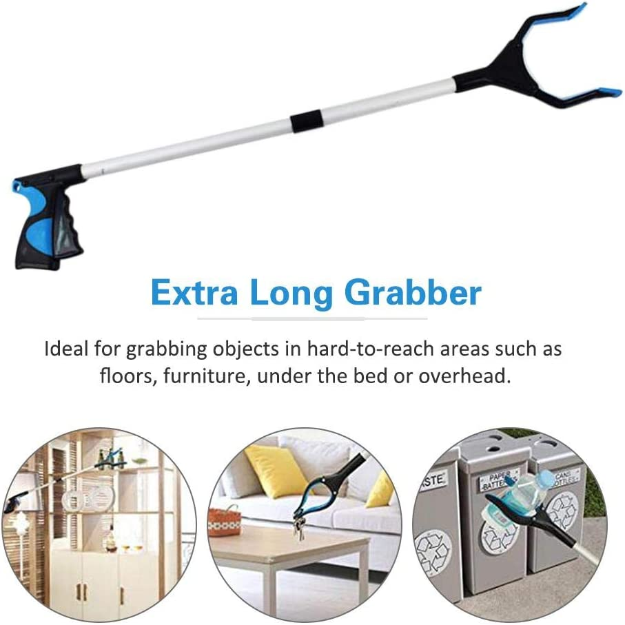 Litter Pick Up STKJ Grabber Reacher with Rotating Gripper Arm Extension,1pcs Garden Nabber Mobility Aid Reaching Assist Tool Trash Picker