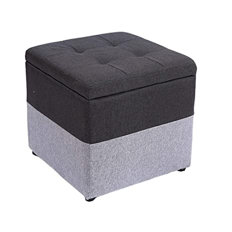 Awe Inspiring Amazon Com Storage Stool Multifunctional Fabric Stool Ocoug Best Dining Table And Chair Ideas Images Ocougorg