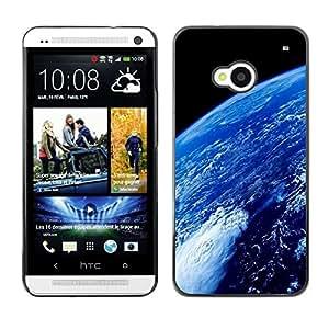 Stuss Case / Funda Carcasa protectora - Earth Atmosphere Blue Planet Space Ocean - HTC One M7