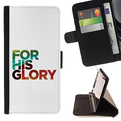FJCases Frases Cristianas Biblia Dios Jesús Carcasa Funda Billetera con Ranuras para Tarjetas y Soporte Plegable para HTC U11