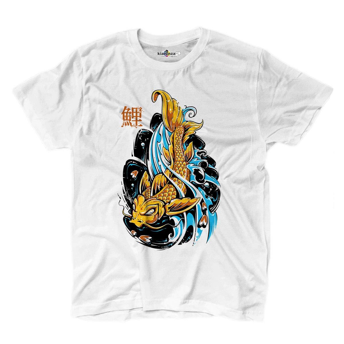 KiarenzaFD - Camiseta Camiseta Tatuajes Tattoo Ink Carpa Japonés ...