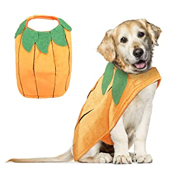 Vikedi Dog Halloween Costumes, Dogs Halloween Pumpkin Costume, Adjustable  Pet Dog Clothes Halloween Party Cosplay Decoration, Pet Costumes Apparel  for