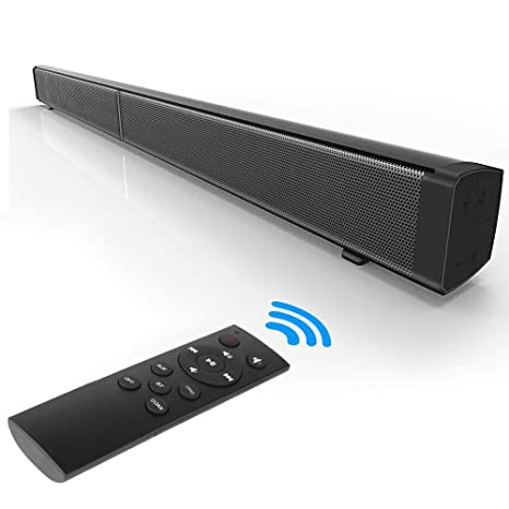 XGLL Barra de Sonido de TV, Soporte Bluetooth, Tarjeta TF ...