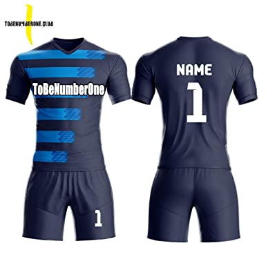 Custom Men s Sport Jersey Set Full Sublimated Soccer Uniform with Any  Name 256d81b6d